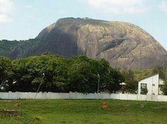 Aso rock . Nigeria
