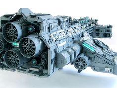 lego hyperion battle cruiser 2