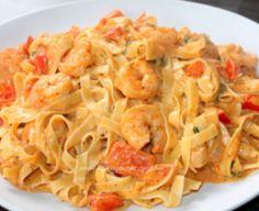 Recept: tagliatelli met scampi diabolique!