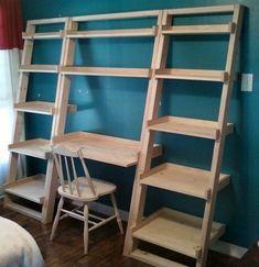 New Diy Shelves Bedroom Storage Tv Stands 33 Ideas Industrial Furniture, Pallet Furniture, Furniture Projects, Home Projects, Industrial Lamps, Vintage Industrial, Furniture Design, Furniture Vintage, Menue Design