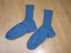 ručně pletené ponožky z ponožkové vlny pro chladné dny i noci