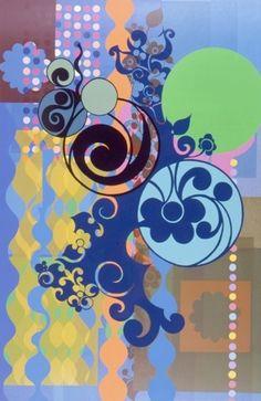 Beatriz Milhazes - Gravura Figo. Art Experience:NYC http://www.artexperiencenyc.com/social_login