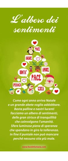 "Poesia natalizia ""L'albero dei sentimenti"". Christmas Arts And Crafts, Christmas Projects, Kids Christmas, Merry Christmas, Advent, Diy And Crafts, Crafts For Kids, Xmax, Learning Italian"