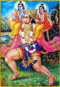 Lord Hanuman Carrying Lord Rama And Lord Lakshmana Hanuman Jayanthi, Hanuman Photos, Hanuman Images, Lord Krishna Images, Durga Maa, Shree Krishna, Shri Ram Photo, Happy Hanuman Jayanti, Hanuman Ji Wallpapers