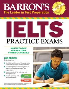 This is Online Books Barron's IELTS Practice Exams with Audio CDs: International English Language Testing System by Lin Lougheed open library books online. Ielts Listening, Ielts Reading, Ielts Writing, Writing Strategies, Sat Practice Test, Reading Practice, English Language Test, Test Preparation, Vanellope