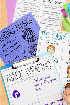 Free resources to help support students and teachers in the new school year. Free resources for you so that you don't have to worry about reinventing the wheel. Your time is way better spent resting, reflecting, and connecting with students. You'll find a few printables on mask-wearing and social distancing, as well as some talking points and lessons for dealing with anxiety and sadness right now. ⁣Suitable for preschool, kindergarten, first grade, second grade, and more. Click to find out more.