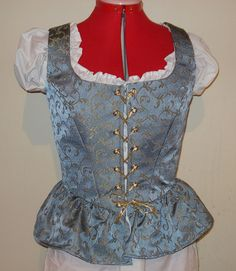 I've lost so much weight my Ren faire dress no longer fits.  Might go with a bodice like this for a while