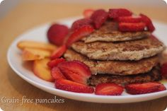 coconut flour & almond meal pancakes