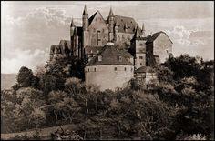 Marburg Castle. Germany