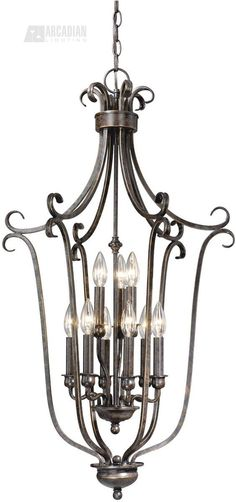 Vaxcel Lighting PD35920 Mont Blanc Traditional Foyer Light VX-PD35920