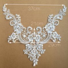 Couture Embroidery, Embroidery Works, Lace Embroidery, Lace Applique, Fancy Wedding Dresses, Wedding Belts, Lace Weddings, Border Embroidery Designs, Embroidery Patterns