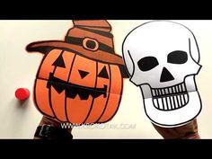 krokotak | Paper Hand Puppets for Halloween