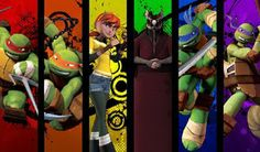 TMNT 2012 by OurNameIsAwesomeness