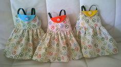 Tres vestidos para Nancy para mis tres nietas.
