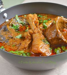 Funke Koleosho's Food Blog: Banga Soup (aka Palm Nut Soup------WEST AFRICA