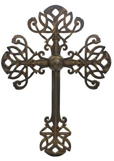 Sir Oliver's by Reilly-Chance Collection offers our Large Versailles Decorative Wall Cross in Bronze,Gold,Champagne, and Silver finishes. It is is embellished with  Swarovski Crystals.