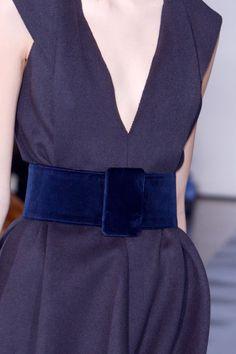 Blue velvet. Jil Sander Fall 2013 RTW - Fashion on TheCut