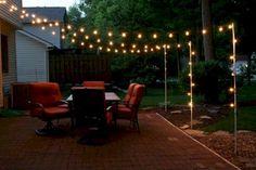 Inspiring Backyard Lighting Decor Ideas - Page 29 of 35