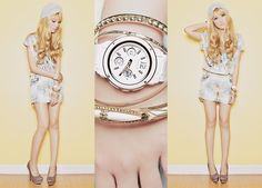 Conditions Apply Silk Playsuit, Michael Antonio Heels, Casio Watch, Yhansy Turban, Bracelet