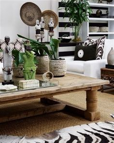 Ethnic bohemian living room