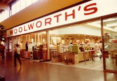Christmas shopping at Woolworth's
