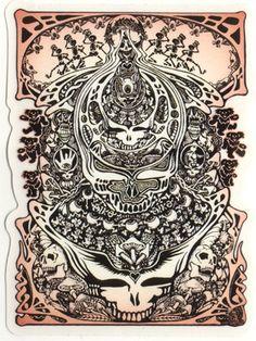 Grateful Dead Aiko Sticker