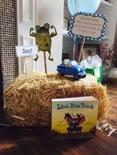 Little Blue Truck theme first birthday