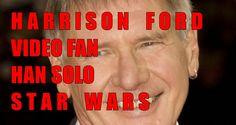 Harrison Ford caracterizacion de el actor de cine como Han Solo  en la pelicula en la guerra de las galaxias homenaje