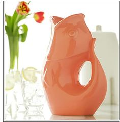 The Gurgle Pot - a pitcher shaped like a fish that makes glug glug glug noises when you pour from it.