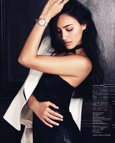 Jun Hasegawa - Vogue Japan August 2011 ❤ GG's tiny times