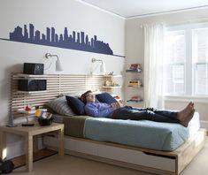 Brincando de decoração Crianças criam os próprios quartos em casa nos EUA