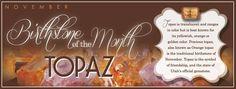TOPAZ- Symbol of Prosperity Birthstone for November Month