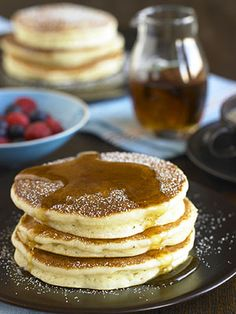 Always a family favorite for breakfast, this quick and easy recipe makes delicious pancakes every time.