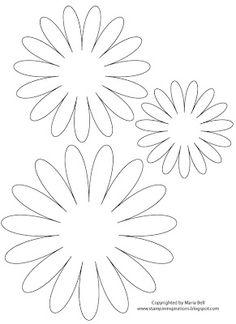 Molde para flor diy easy pinterest molde