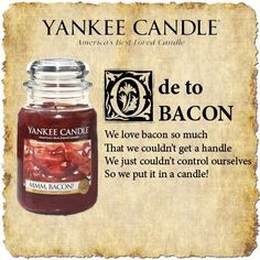 Ode to Bacon by Yankee Candle