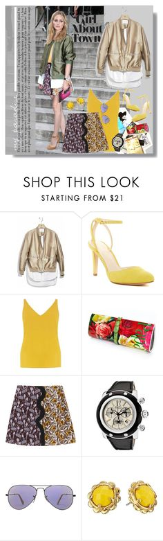 """288"" by believelikebreathing ❤ liked on Polyvore featuring Giambattista Valli, 3.1 Phillip Lim, Nine West, Dorothy Perkins, Papà Razzi, Glam Rock, Ray-Ban and Kate Spade"