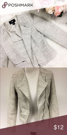 Tweed & Sparkle Blazer Perfect touch to any holiday outfit! Great condition. H&M Jackets & Coats Blazers