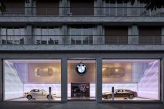 BMW showroom by Mindseye Lighting Design
