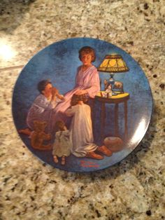 """Norman Rockwell Mothers Day Edition 1976 """"Mother's Blessing"""" Collectors Plate on Etsy, $19.00"""