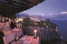 Reids - Villa Cipriani terrace