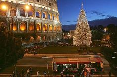 Rome is one of the top Italian tourist place to visit during the Christmas holidays. The celebration of Christmas actually originated from here. Christmas In Rome, Christmas Markets Europe, Christmas Events, Christmas Holidays, Italian Christmas Traditions, The Places Youll Go, Places To Visit, Adventure Bucket List, Tourist Places