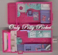 1994 - Polly Pocket Home on the Go (RV) - Bluebird Toys  Mattel #11969