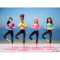 Now moving in more ways than before, the #Barbie Made to Move dolls can do so much more. Dolls can't stand alone