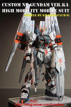 MG 1/100 Nu Gundam Ver. Ka - Customized Build w/ LEDs