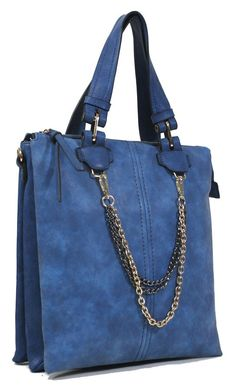 In Chains Vegan Leather Tote