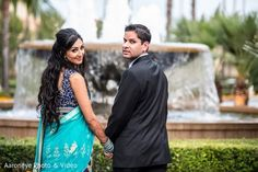 Reception Portrait http://www.maharaniweddings.com/gallery/photo/58576 @aaroneye @MarriottNB/newport-beach-marriott-hotel-spa-weddings