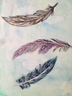 feathers - Lifebook 2015 class with Alisa Burke