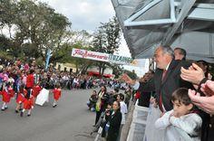 TRES ESTABLECIMIENTOS EDUCATIVOS NUEVOS: El gobernador Colombi acompañó a Ituzaingó en su aniversario #ArribaCorrientes