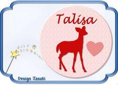 Button rotes Rech von Jasuki auf DaWanda.com