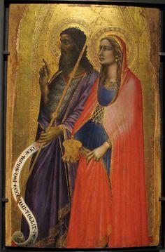 the Magdalene in a scarlet cloak from Avignon
